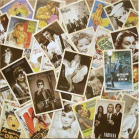 Vintage kaartenset Famous