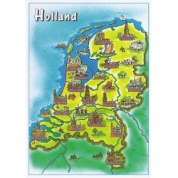 Map Holland