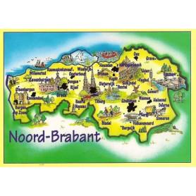 Map Brabant