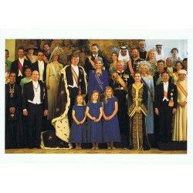 Groepsfoto Inhuldiging Koning Willem Alexander