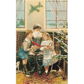 Bij de kerstboom