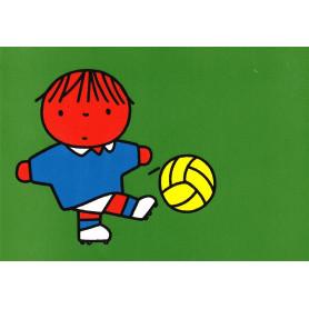 Nijntje - Daan aan het voetballen