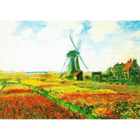 Claude Monet - Tulpenveld