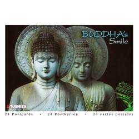 Postcardbook Buddha's Smile