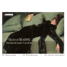 Postcardbook the Art of Reading