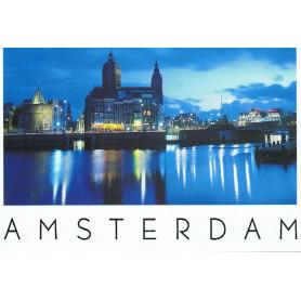 Amsterdam nightview