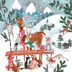 Cartita Design - Snowy animal world