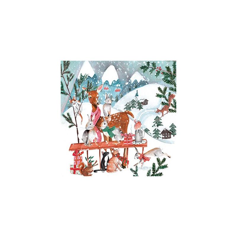 Cartita Design - Snowy animal world
