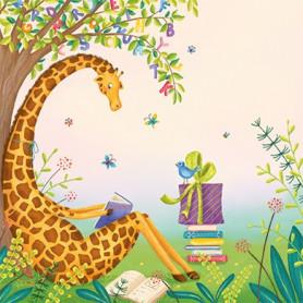 Tatjana Beimler - Reading giraffe