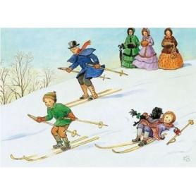 Elsa Beskow - Skiën