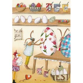 Silke Leffler - Egg painting