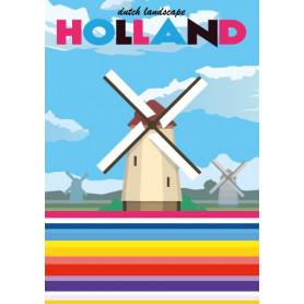 Mingface - Dutch landscape