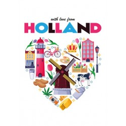 Mingface - Holland heart