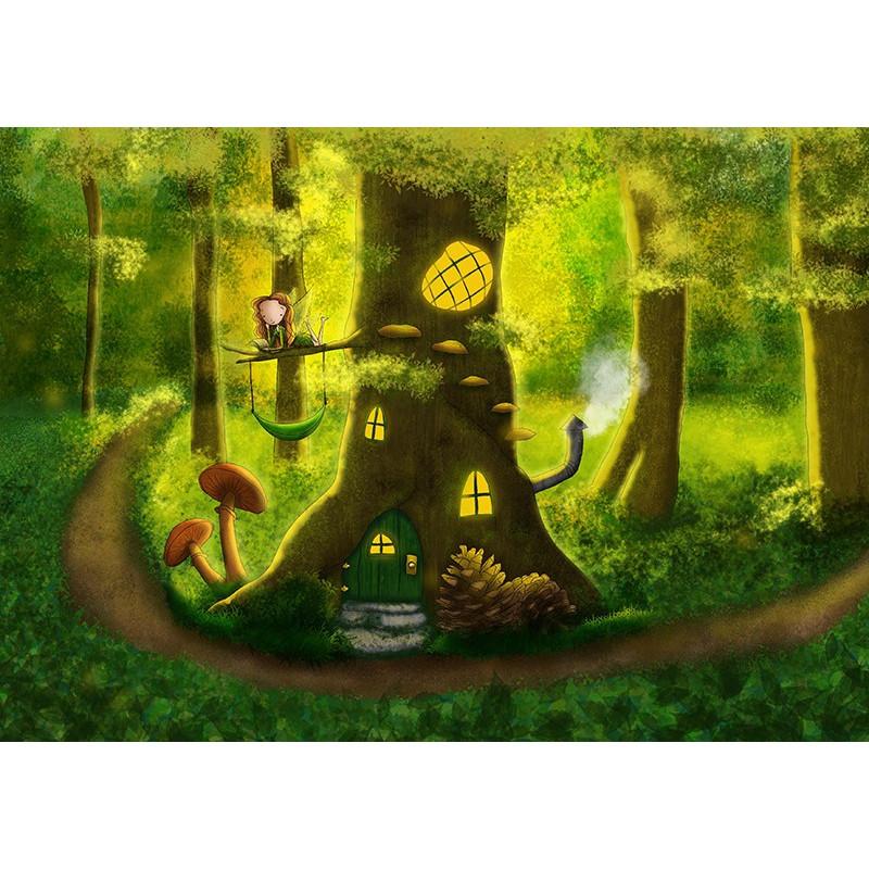 Ila Illustrations - Fairy house