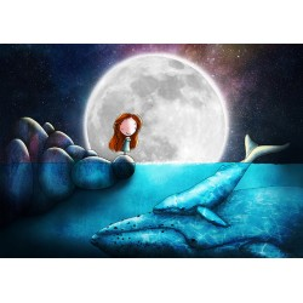Ila Illustrations - New moon