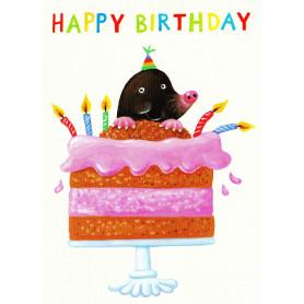 Mole with cake