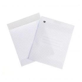 Envelop (wit met stipjes) voor PickMotion