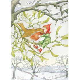 Molly Brett - Christmas robin