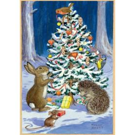 Molly Brett - Decorating the tree