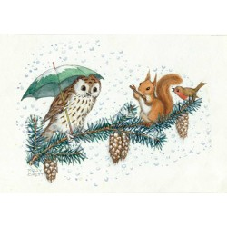 Molly Brett - Christmas animals