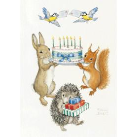 Molly Brett - Birthday cake