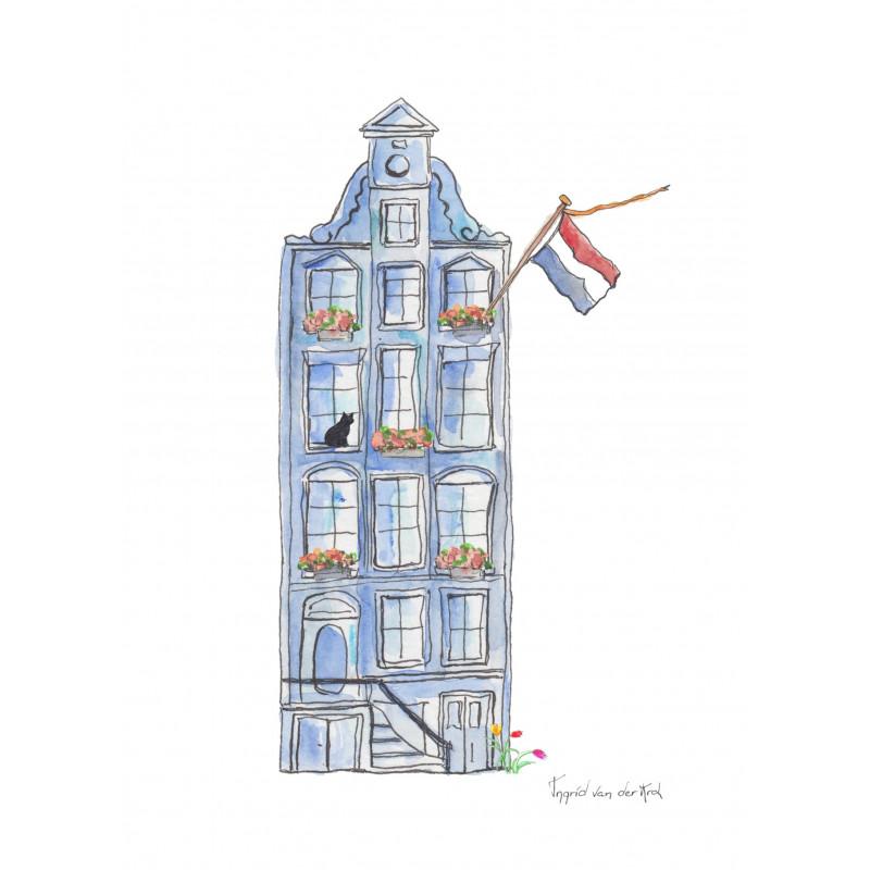 Fantasiebeestjes - Hollands grachtenhuisnetje