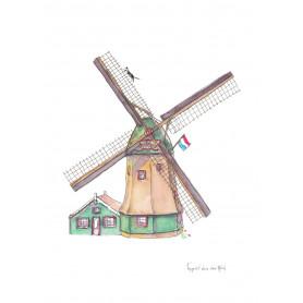 Fantasiebeestjes - Hollandse molen