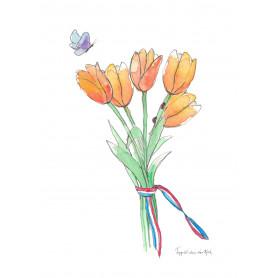 Fantasiebeestjes - Hollandse tulpen