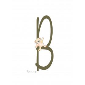 Fantasiebeestjes - Alfabet B