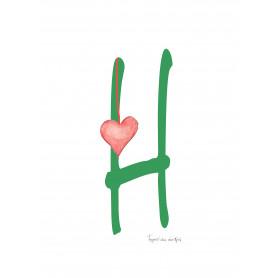 Fantasiebeestjes - Alfabet H