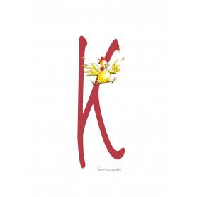 Fantasiebeestjes - Alfabet K