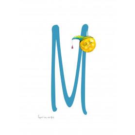 Fantasiebeestjes - Alfabet M