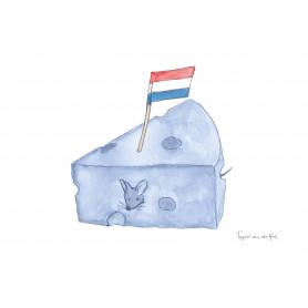 Fantasiebeestjes - Delftsblauw kaas
