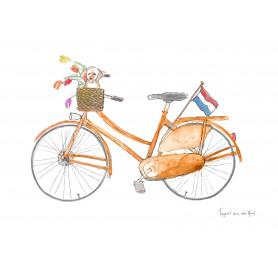 Fantasiebeestjes - Hollandse fiets