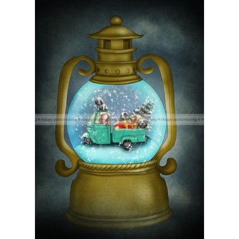 Ila Illustrations - Lantern