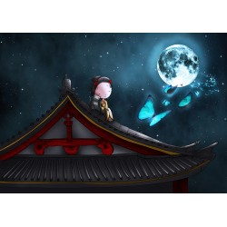 Ila Illustrations - Moon butterflies