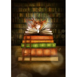 Ila Illustrations - Magic book