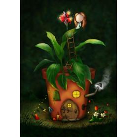 Ila Illustrations - Roof garden