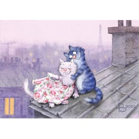 Rina Zeniuk Blue Cats - Lamour