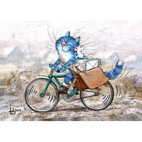 Rina Zeniuk Blue Cats - Mailman