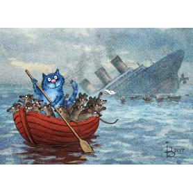 Rina Zeniuk Blue Cats - Even worse