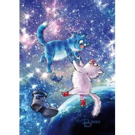 Rina Zeniuk Blue Cats - Universe