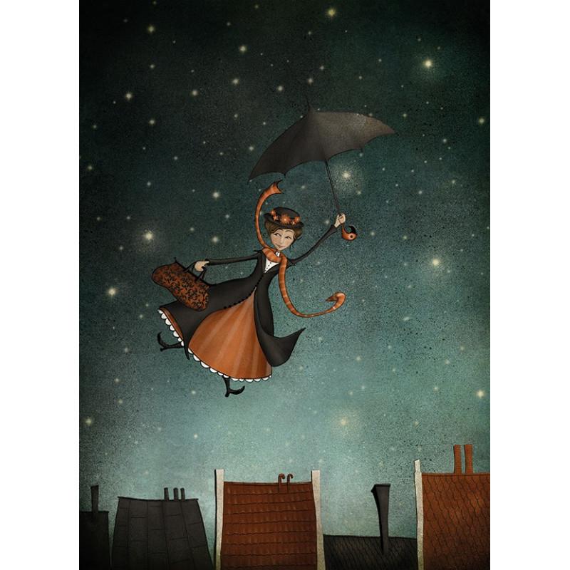 Majali - Umbrella by night