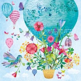 Mila Marquis - Bird with flowerbasket