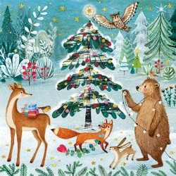 Mila Marquis - Decorated Forest tree