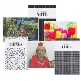 Set van 16 leuke postkaarten