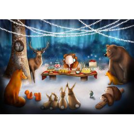Ila Illustrations - Party night
