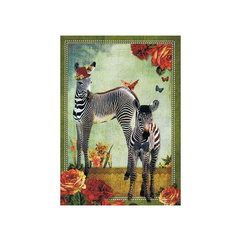 Vintage zebra's