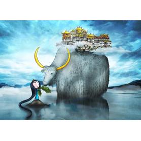 Ila Illustrations - Shangri La
