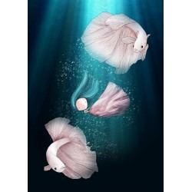 Ila Illustrations - Underwater Dance